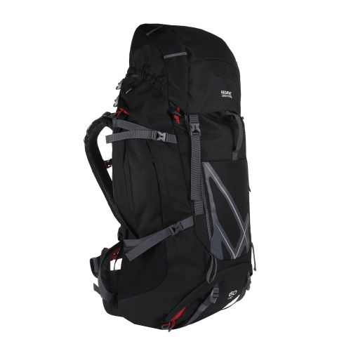 Kota Expedition 60+15L Expandable Rucksack Black